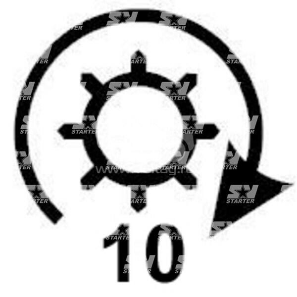0001108039 - CS330 - Стартер BOSCH