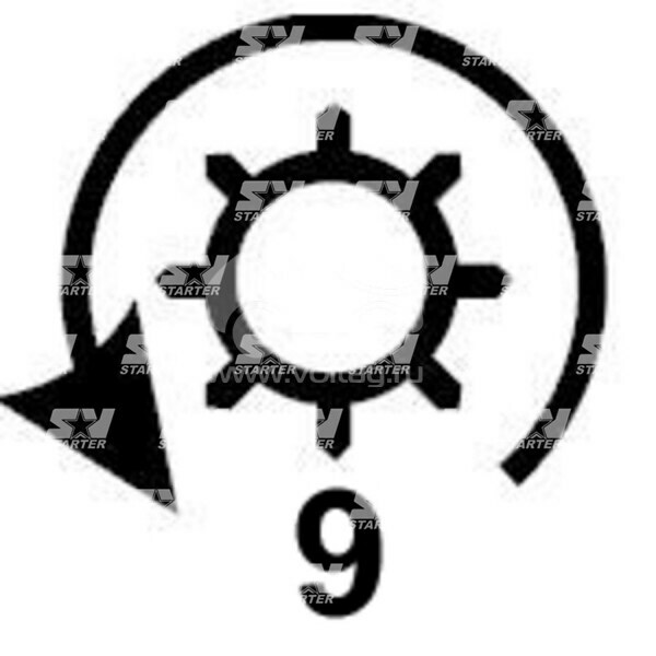 19024834 - CS692 - Стартер REMY (DELCO)