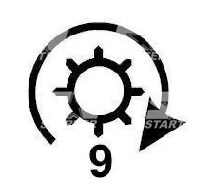 534055 - CS390 - Стартер DUCELLIER