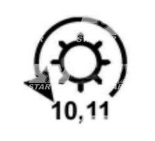 1007765 - CS974 - Стартер FORD