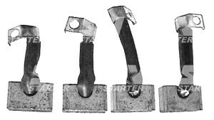 2007014076 - BSX163 - Щетка стартера BOSCH