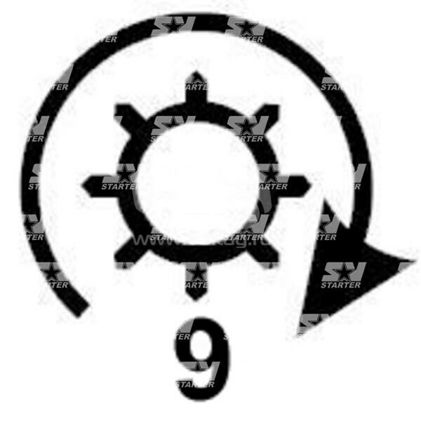 19024242 - CS231 - Стартер REMY (DELCO)