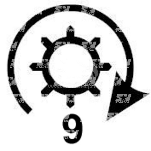 6189 - CS129 - Стартер DUCELLIER